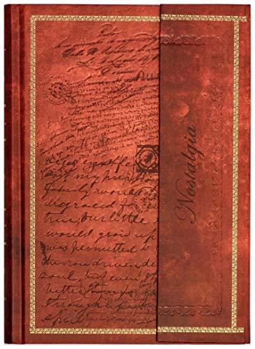 """Tagebuch\""""Edle Schriften\"""" Notizbuch Din A4 liniert/gepunktet Hardcover Magnetverschluss & Prägung gebunden braun/türkis Vintage-Look Reisetagebuch"""