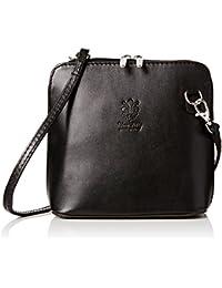 Girly Handbags Cuir Véritable Rigide Sac D'Épaule Sac Bandouliere Sac Réel Italienne