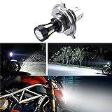6.74x4.73CM H4 18W moto 3030 LED CROISEMENT moto Lampes Ampoules DC Lumières 12-24 6500K Regard