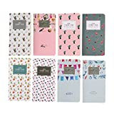 Shulaner Lista de la compra, oc Listas, Memo Pad, To Do List, 6.8 x 3.5 inch, Paquete de 8