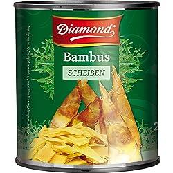 Conserva de brote de bambú - 6 de 2950 gr. (Total 17.700 gr.) Diamond