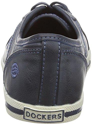 Dockers 27CH247, Low-Top Sneaker donna Blu (Blau (dunkelblau 670))