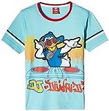 Mickey Boys' T-Shirt (MICOB005_Aqua Blue...