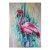 Meigold Diamant Gemälde Set Flamingo Diamant Gemälde Kristall Stickerei Bild Kunst Basteln Home...