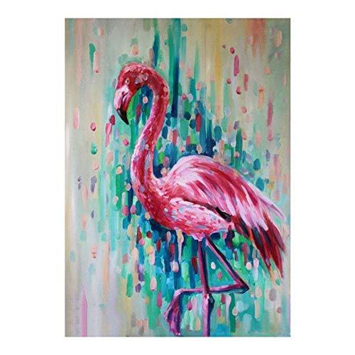 Gespout 5D Diamond Painting Set Flamingo DIY Diamantmalerei Diamant Malerei Gemälde Kreuzstich Kristall Strass Stickerei Kreuzstich Arts Craft für Home Wand Decor Wandaufkleber Handgemachte Produkte -