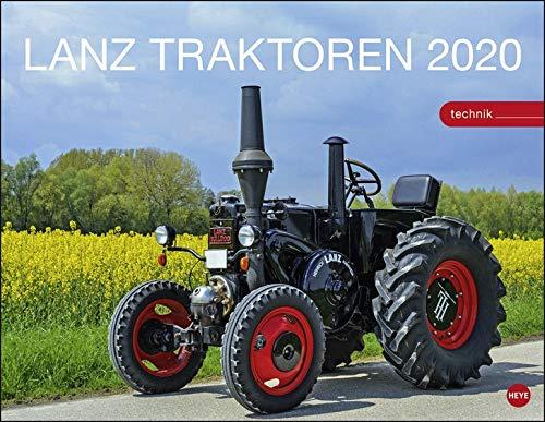 Starke Lanz Traktoren 2020 44x34cm