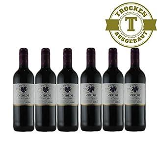 Rotwein-Frankreich-Merlot-Jean-Dellac-trocken-6x075L