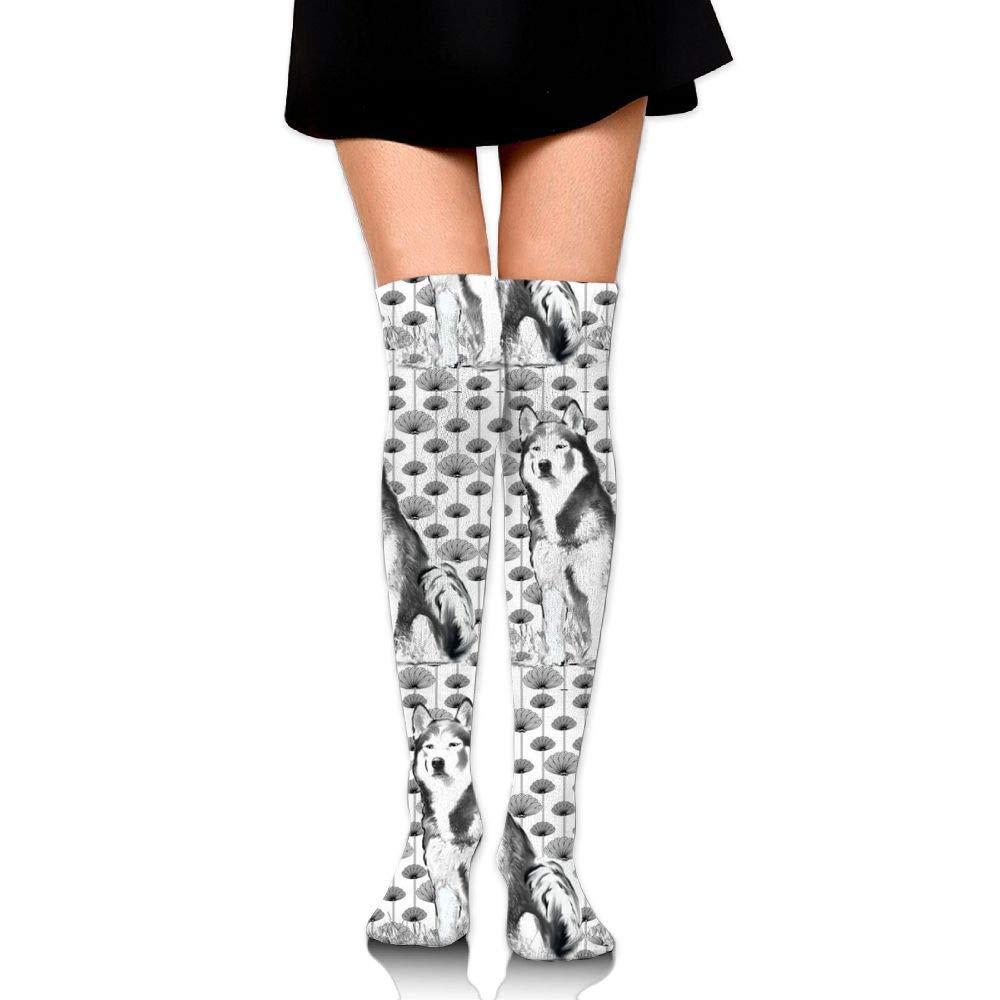 quanzhouxuhuixiefu Alaskan Malamute Upgraded Knee High Graduated Compression Socks for Women and Men – Best Medical…