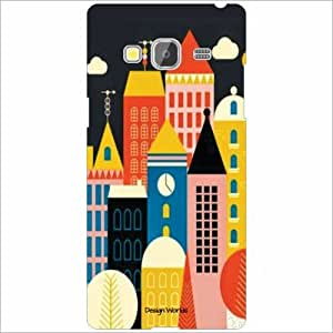 Design Worlds - Samsung Z3 Designer Back Cover Case - Multicolor Phone Cover