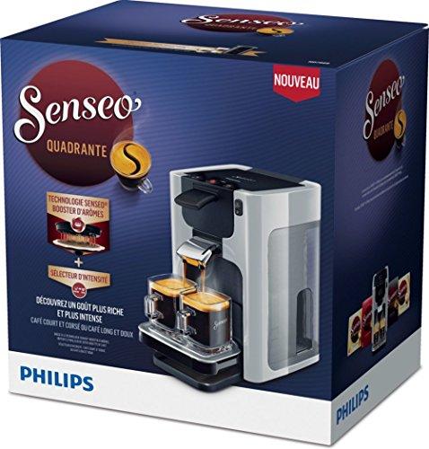 Senseo Quadrante HD7866/11 - Cafetera (Independiente, Máquina de café en cápsulas, 1,2 L, Dosis de café, 1450 W, Gris)