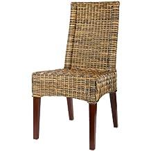 sillas de mimbre baratas
