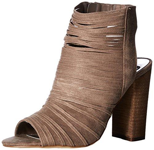 Carlos by Carlos Santana Frauen Larissa Peep Toe Besonderer Anlass Knoechel Riemen Sandalen Braun Groesse 10 US /41.5 EU - Santana-open Toe Heels