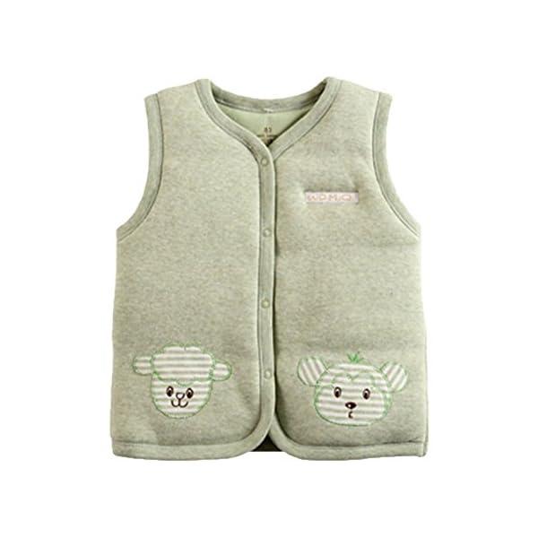 Banner Bonnie bebé algodón cálido Chalecos de Unisex Infantil para luz Acolchado Chaleco 2