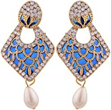 Grandiose Gold Plated Jhumki Earrings fo...