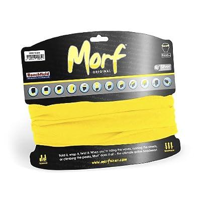 Schlauchschal Morf® Original, Schal, Stirnband, Schal, Größe Unisex viele Farben Yellow