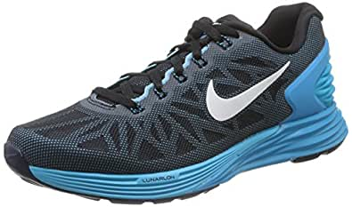 NIKE LUNARGLIDE 6 WOMEN'S RUNNING SHOES-654434-007-SIZE-5 UK