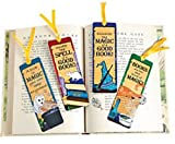 Picture Of Pack of 12 - Wizard's Academy Bookmarks - Great Magic Theme Party Bags