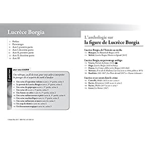 Lucrèce Borgia: suivi d'une anthologie sur la figure de Lucrèce