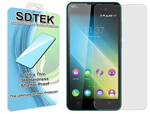 SDTEK Wiko Lenny 2 Verre Trempé Protecteur d'écran Protection Résistant aux éraflures Glass Screen Protector Vitre Tempered