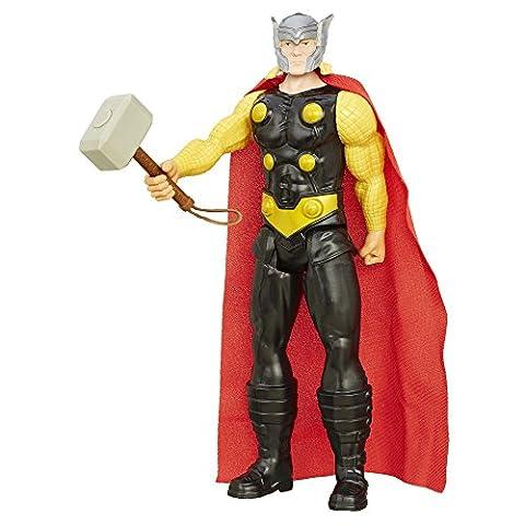 Avengers Thor mit Hammer Marvel Titan Hero Serie 30 cm bewegliche Sammelfigur