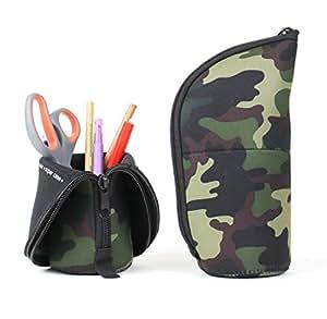 Camouflage Trousse 'Supercase'- Trousse transformable en Pot a crayons