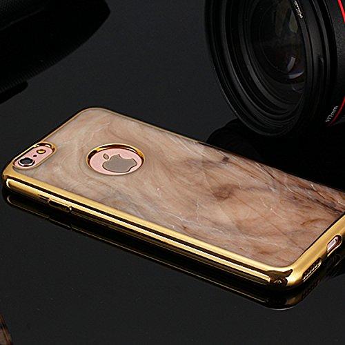 Wkae iphone 6 / 6s, coloré bowlder electroplate caoutchouc silicone schéma tpu doux pour la peau cas sur iphone 6 / 6s Wkae Case Cover ( PATTERN : 4 , Size : IPhone 6/6S ) 2