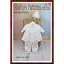 patrón para dos agujas – KP45 - chaqueta matinée, pantalones, sombrero