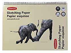 Derwent A3 Landscape Sketch Pad - 30 Sheets