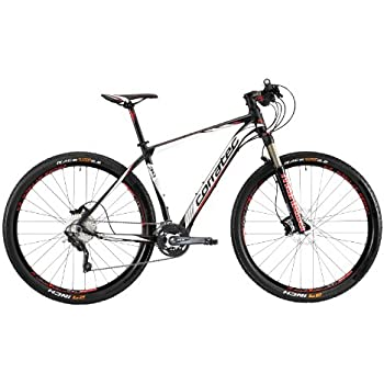 Corratec Herren Fahrrad MTB X Vert 29 01, Mattschwarz/Weiß