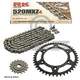 Kettensatz KTM EXC 450 Enduro Racing 03-12, Kette RK 520 MXZ4 118, offen, 15/45