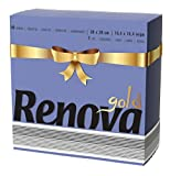 Renova Servilletas de papel Gold Azul - 40 servilletas - [Pack de 5]