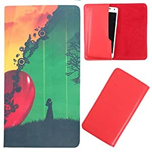 DooDa - For Gionee Elife E7 PU Leather Designer Fashionable Fancy Case Cover Pouch With Smooth Inner Velvet