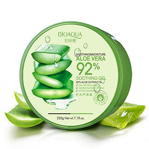 Kontrolle Aufhellung (Petansy Anti Acne Treatment Scar Removal Face Cream Whitening Moisturizing Aloe Vera Gel for Facial Care)