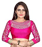 Bollywood Designer Women's silk Dress Material (_Pink_)