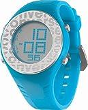 Converse Reloj Digital para Unisex de Cuarzo con Correa en Silicona 25758