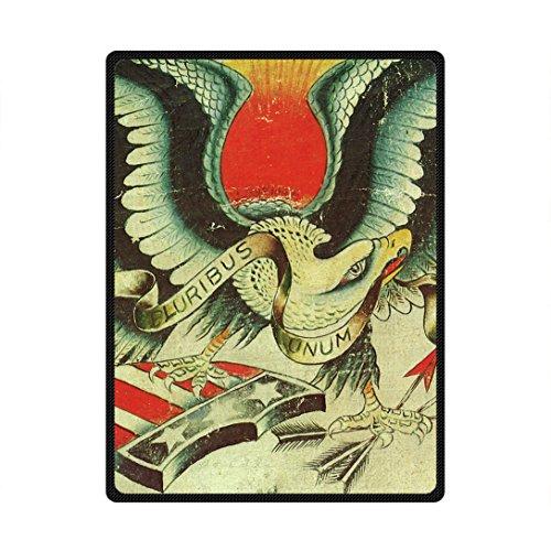 Doubee ' Águila Eagle Premium Forro Polar Manta Blanket