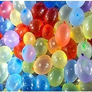 GRAND SHOP Latex Water Balloon 500 Pcs Multicolor