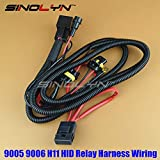 Homely Sinolyn 12V 35W/55W 9005 9006 H11 Hid Xenon Bulbs Relay Harness Wiring