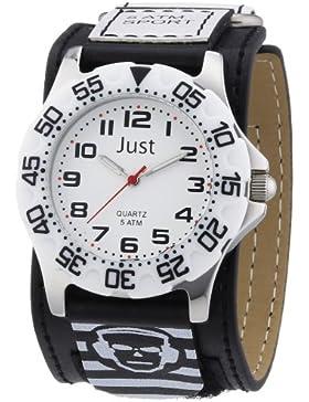 Just Kinder und Jugend-Armbanduhr Quartz 48-S0037-WH