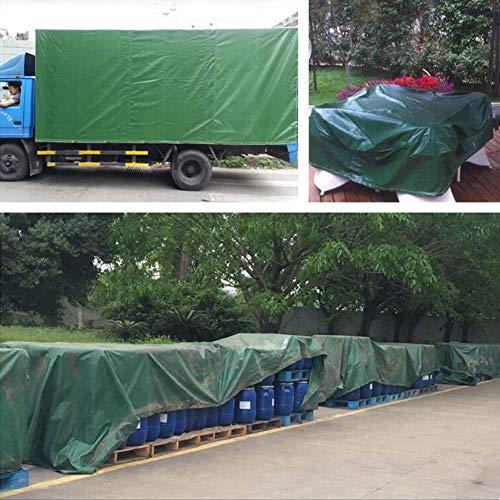 CJC Markisen Plane PVC-Baldachin Tarps wasserdichte Abdeckung Zum Dach Camping Zelt Lastwagen Wohnmobil (Color : Green, Size : 6x8m) -