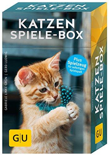 Preisvergleich Produktbild Katzen-Spiele-Box: Plus Spielzeug für sofortigen Spielspaß (GU Tier-Box)