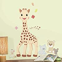 "RoomMates ""Sophie the Giraffe Giant Wall Sticker"