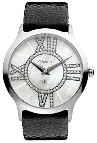 Orphelia - 132-1702-14 - Montre Femme - Quartz Analogique - Bracelet Cuir Noir
