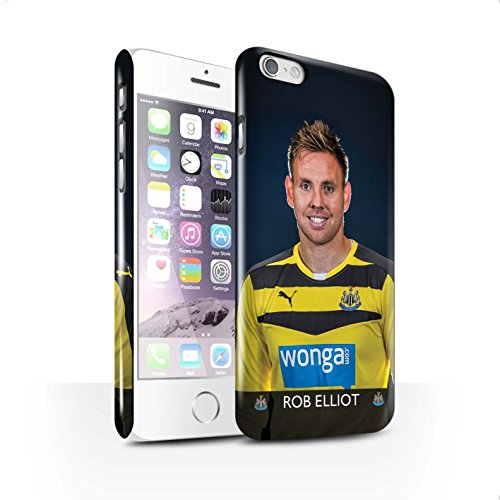 Offiziell Newcastle United FC Hülle / Glanz Snap-On Case für Apple iPhone 6S / Anita Muster / NUFC Fussballspieler 15/16 Kollektion Elliot