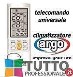 Telecomando per condizionatore argo climatizzatore aria condizionata UNIVERSALE