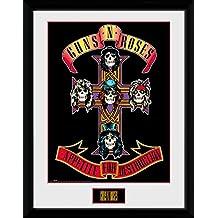 Guns N' Roses - Appetite Póster De Colección Enmarcado (40 x 30cm)