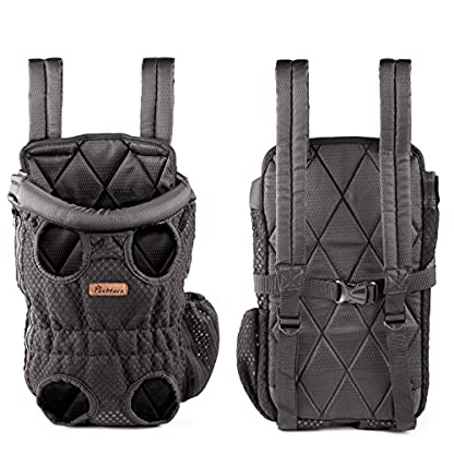Petmars Pet Backpack Carrier: Dog And Cat Carrying Bag, Front And Back Facing, For Small Medium And Large Sized Breeds… 4