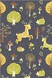 Posterlounge Acrylglasbild 20 x 30 cm: Magischer Wald mit Wilden Tieren von Kidz Collection/Editors Choice - Wandbild, Acryl Glasbild, Druck auf Acryl Glas Bild