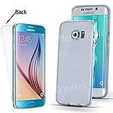 Ultra Thin Transparent TPU Gel Schutzhülle Samsung Galaxy S7s7edge S6s6edge S5J3J5A3, blau, Samsung Galaxy S6