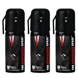 #4: The Body Guard Pepper Spray for Self Defence - Pack of 3 - High Power